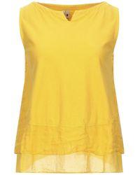 European Culture Camiseta - Amarillo