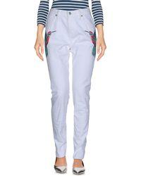 Sandrine Rose Denim Trousers - White