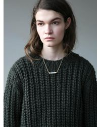Kelly Love - Cactus Green Knit - Lyst