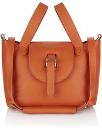 meli melo - Mini Thela In Marmalade Calf Leather - Lyst