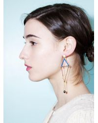 Joanna Cave - Lamp Earrings - Lyst
