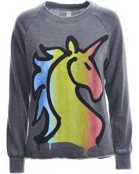 Simeon Farrar Vintage Sweatshirt. Grey Unicorn. - Gray