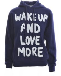 Simeon Farrar Navy Blue Wake Up Hoodie