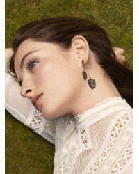 Maha Lozi - Farmer's Leaf Drop Earrings - Lyst