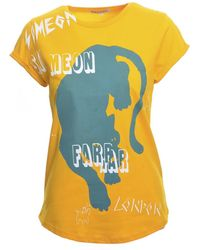 3646dd41 Scribble Panther Tee. Yellow - Last One