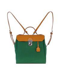 Jam Love London Hillview Zipper Backpack - Green