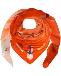 Klements - Lost Souls Silk Cotton Square Scarf - Lyst