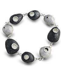 Agneta Bugyte - Intricate Pebble Bracelet - Lyst