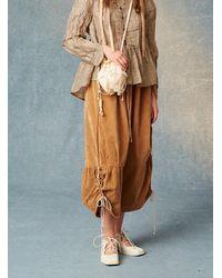 Renli Su Joe Softest Camel Velvet Pants - Multicolor