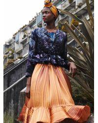 Klements - Liquid Skirt In Velvet Curtain Print - Lyst