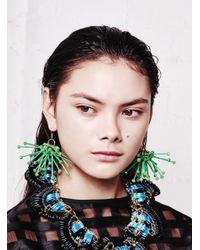 Kirsty Ward - Green Cluster Earrings - Last Pair - Lyst