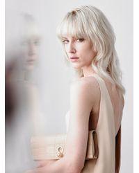 Danielle Foster - Katie Clutch Bag In Nude - Lyst