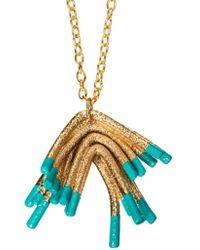 Oddical - Sylvie Mini Pendant Necklace - Lyst