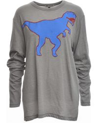 Simeon Farrar - Long Sleeved Tee. Blue Dinosaur - Lyst