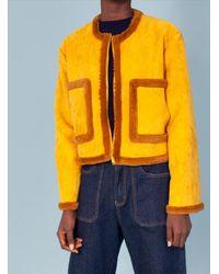 L.F.Markey Quentin Coat Saffron - Yellow