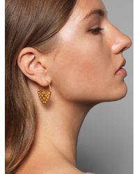 Joanna Cave - Ramona Gold Earrings - Lyst