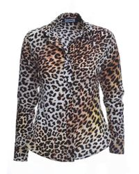 Rockins - Classic Shirt In Natural Leopard - Lyst