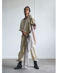 WEN PAN An Asymmetrical T-shirt Dress - Multicolour