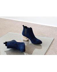 Dear Frances - Float Ankle Boot, Sapphire - Lyst