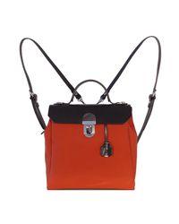 Jam Love London Hillview Zipper Backpack - Red