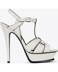 6c4cd8d841 Classic Tribute 105 Sandal In Chalk And Black Leather