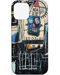 RIVE DROITE Iphone 12 pro max case with a jean-michel basquiat print - Multicolore