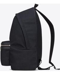 5b6279871 Saint Laurent Utilitarian Camo-print Backpack in Green for Men - Lyst