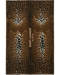 RIVE DROITE Drap de bain léopard - Multicolore