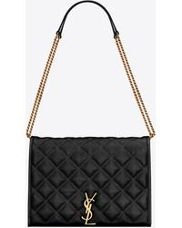 Saint Laurent Borsa a spalla Becky Small - Nero