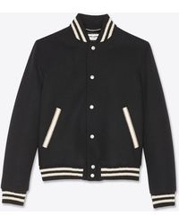 Saint Laurent Teddy jacket - Noir