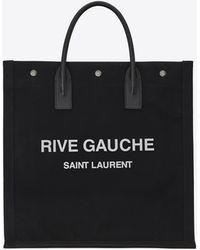 Saint Laurent Borsa a mano Rive Gauche - Nero
