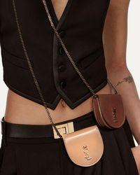 Saint Laurent Le K Baby Satchel In Smooth Leather - Black