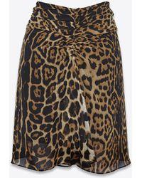 Saint Laurent - Short Skirts - Lyst