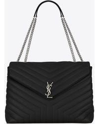 Saint Laurent Loulou Small Quilted Leather Shoulder Bag - Multicolor