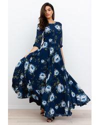 Yumi Kim Woodstock Maxi Dress - Blue