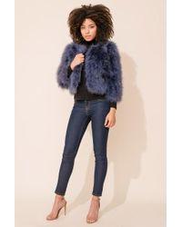 Yumi Kim - Away We Go Faux Fur Feather Jacket - Lyst