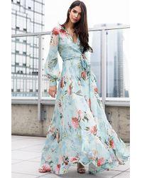 Yumi Kim Giselle Maxi Dress - Blue