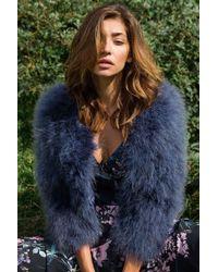 Yumi Kim | Away We Go Faux Fur Feather Jacket | Lyst