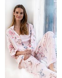Yumi Kim Snuggle Me Floral Pyjama Set - Multicolour