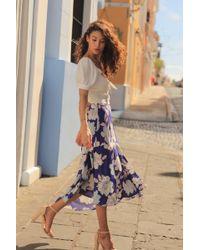 Yumi Kim Ann Street Skirt - Blue
