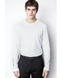 Zadig & Voltaire T-shirt Hector - Blanc