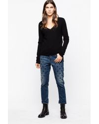 Zadig & Voltaire Starseed Jeans - Blue