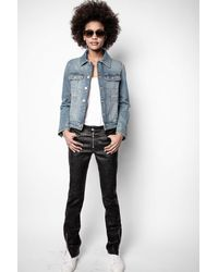 Zadig & Voltaire Kioky Band Of Sisters Jacket - Blue