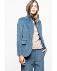 Zadig & Voltaire - Very Velours Jacket - Lyst
