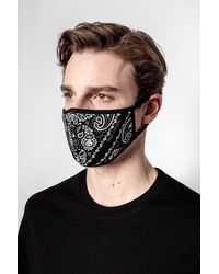 Zadig & Voltaire Bandana Masks Pack Of 2 - Black