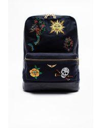 Zadig & Voltaire Arizona Broderie Bag - Multicolour