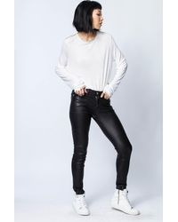 Zadig & Voltaire - Willy Gold T-shirt - Lyst