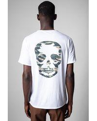 Zadig & Voltaire T-shirt monastir - Blanc