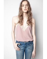 Zadig & Voltaire - Christy Camisole - Lyst