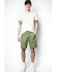Zadig & Voltaire - Mili Piers Shorts - Lyst